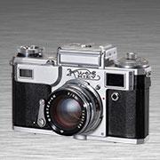 相机博物馆收藏老相机,IV2135旁轴取景相机,KIEV(基辅),前苏联