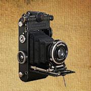 相机博物馆收藏老相机,ProminentFolding折叠相机,VOIGTLANDER(福伦达),德国